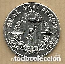 Coleccionismo deportivo: COLECCION MONEDAS PLATA DEL REAL VALLADOLID 1996-97 - 20 MONEDAS (PESO TOTAL 102 GRAMOS) + 1 PIN - Foto 3 - 121579403