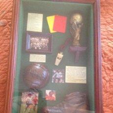 Coleccionismo deportivo: CUADRO CONMEMORATIVO DE PAISES CAMPEONES COPA DEL MUNDO 1930-1998. Lote 129130747