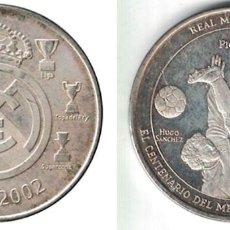 Coleccionismo deportivo: MEDALLA MONEDA REAL MADRID - LOS PICHICHIS - 1902-2002. - MONEDA-137. Lote 129138367