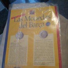 Coleccionismo deportivo: LAS MONEDAS DEL BARÇA BARCELONA PRECINTADO JOSEP LLUIS NUÑEZ MUNDO DEPORTIVO BANCA CATALANA. Lote 130578214