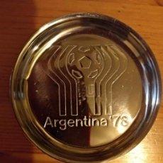 Colecionismo desportivo: SEIS POSAVASOS COPETINEROS CONMEMORATIVOS DEL MUNDIAL ARGENTINA 78. UNA VERDADERA RAREZA PARA COLECC. Lote 130885708