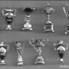 Coleccionismo deportivo: COLECCION DE TROFEOS EN MINIATURA DEL REAL MADRID CLUB DE FUTBOL. Lote 50816844