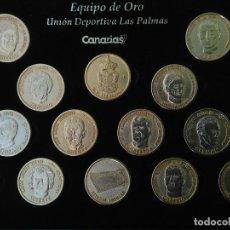 Coleccionismo deportivo: UNIÓN DEPORTIVA LAS PALMAS. ''EQUIPO DE ORO''. COMPLETO. . Lote 132726606