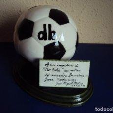 Coleccionismo deportivo: (F-190914)TROFEO DON BALON - PARTIDO F.C.BARCELONA - JEREZ - 24 - II - 1996. Lote 133088698