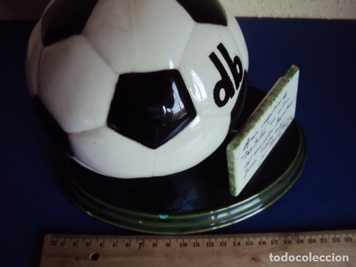 Coleccionismo deportivo: (F-190914)TROFEO DON BALON - PARTIDO F.C.BARCELONA - JEREZ - 24 - II - 1996 - Foto 4 - 133088698