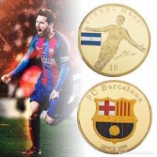 Coleccionismo deportivo: MEDALLA DE MESSI - FC BARCELONA - EN CARTUCHO - EDICION COLECCIONISTAS. Lote 134000210