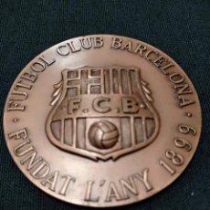 Coleccionismo deportivo: MEDALLA F.C. BARCELONA - AMB AGRAÏMENT PER LA SEVA FIDELITAT -. Lote 134533878