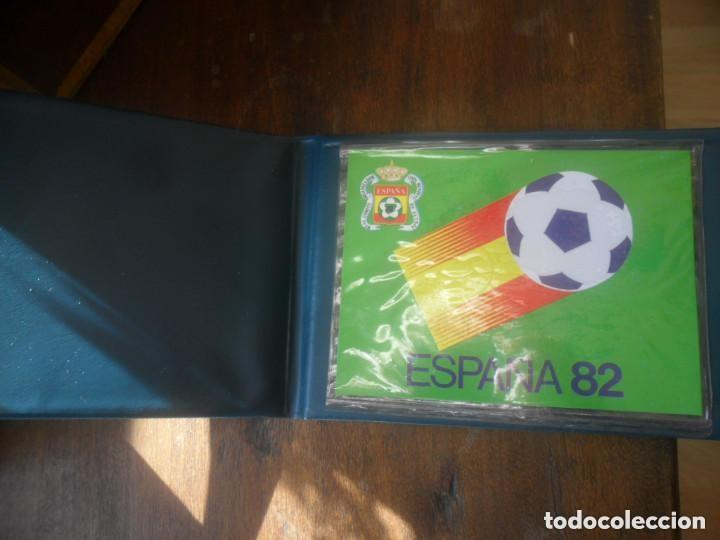 Coleccionismo deportivo: ESTUCHE VERDE PARA MONEDAS DEL MUNDIAL 82 - VACIO - Foto 3 - 135724363