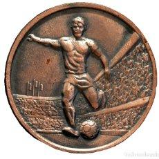 Coleccionismo deportivo: MEDALLA EN BRONCE FUTBOL 6ª COMPETICION NISSAN ESPAÑA 1984. Lote 60259327