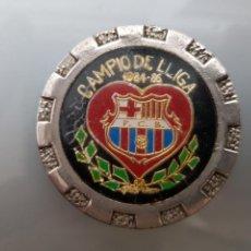 Coleccionismo deportivo: MEDALLA F.C BARCELONA CAMPEON DE LIGA 1984-85 45MM DIAMETRO. Lote 136581489
