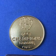 Coleccionismo deportivo: CHAMPIONS 2016. MEDALLA FINAL . REAL MADRID VS AT MADRID. Lote 140832950
