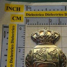 Coleccionismo deportivo: MEDALLA MONEDA INSIGNIA. LOS ESCUDOS DEL REAL MADRID CLUB DE FÚTBOL. ESCUDO 1920. Lote 142977442