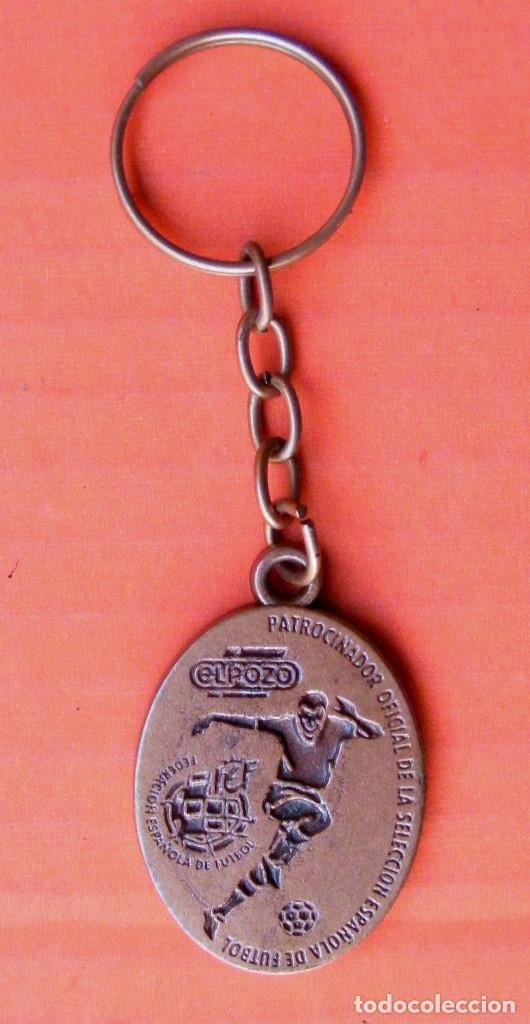LLAVERO DE FÚTBOL, METALICO (Coleccionismo Deportivo - Medallas, Monedas y Trofeos de Fútbol)