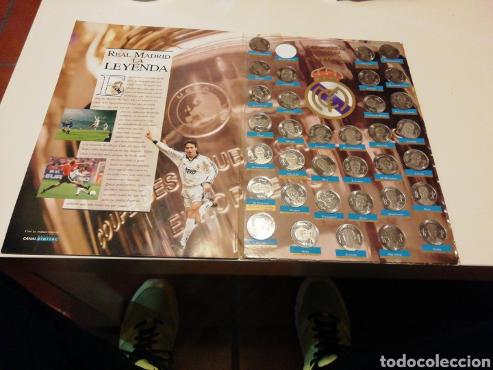 Coleccionismo deportivo: Las monedas oficiales de los grandes ases del club más grande - Foto 5 - 144387142
