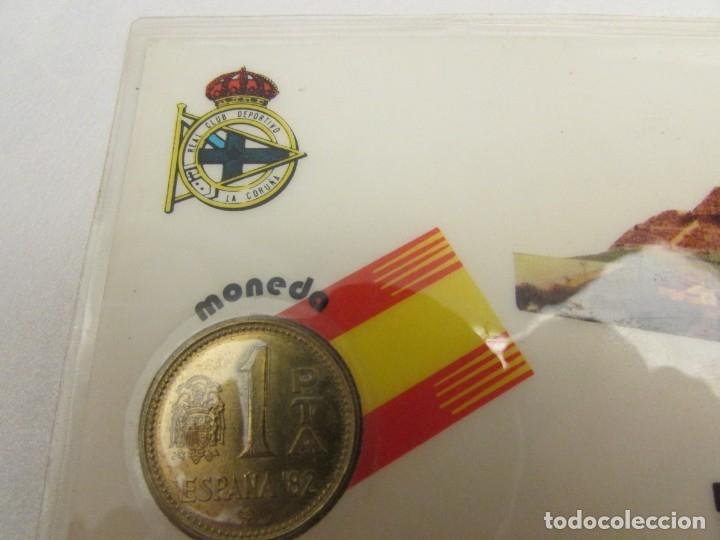 Coleccionismo deportivo: 24 unidades La Coruña m-82 moneda oficial 1 peseta - Foto 6 - 145688134