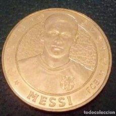 Coleccionismo deportivo: MEDALLA LEO MESSI FC BARCELONA . Lote 146563954
