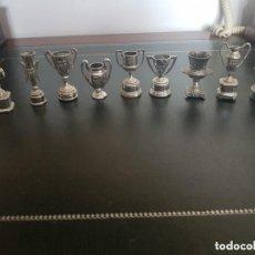 Coleccionismo deportivo: LOTE MINIATURA TROFEOS FC BARCELONA BARÇA. Lote 146756054