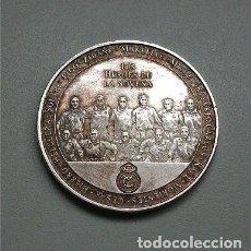 Coleccionismo deportivo: REAL MADRID. MONEDA CONMEMORATIVA NOVENA COPA DE EUROPA 2002 GLASGOW. LOS HÉROES DE LA NOVENA.. Lote 147223542