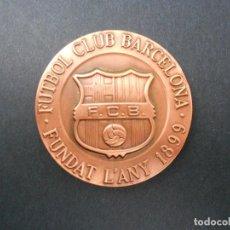 Coleccionismo deportivo: BONITA MEDALLA DE BRONCE DEL FÚTBOL CLUB BARCELONA (COMPROMISSARI 1994-1996). Lote 147431770