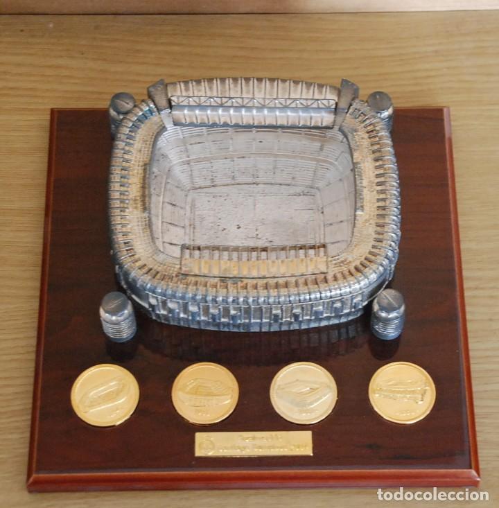 Coleccionismo deportivo: ESTADIO FUTBOL REAL MADRID SANTIAGO BERNABEU - Foto 2 - 147529386
