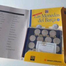 Coleccionismo deportivo: LAS MONEDAS DEL F.C BARCELONA. Lote 147557542