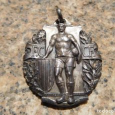 Coleccionismo deportivo: MEDALLA DE PLATA F. CATALANA C. FOOT-BALL C.P. DE B. CAMPIONAT DE CATALUNYA 1925-26 FÚTBOL. Lote 157813090