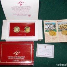 Coleccionismo deportivo: MONEDAS MUNDIAL 82 Nº 2 DANONE. Lote 158229862