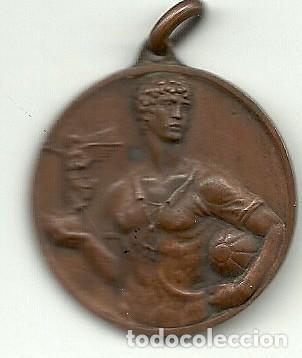 (F-190512)MEDALLA I COPA LLIGA CATALANA 1935 FUTBOL (Coleccionismo Deportivo - Medallas, Monedas y Trofeos de Fútbol)