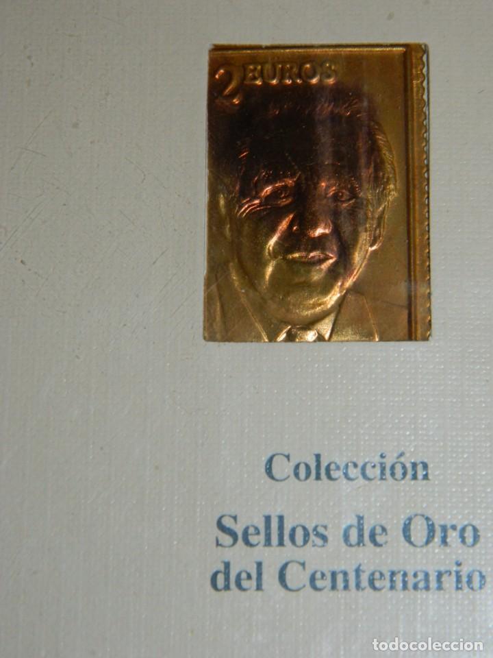 Coleccionismo deportivo: COLECCIÓN SELLOS DE ORO SPORT-COPA DE EUROPA - Foto 5 - 166478210