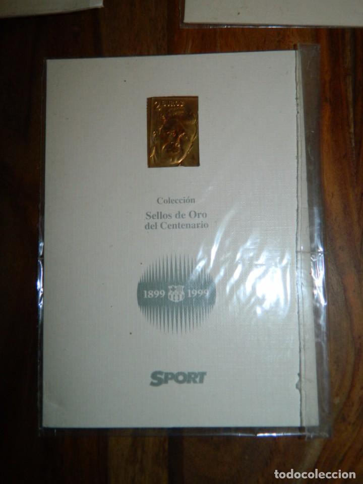 Coleccionismo deportivo: COLECCIÓN SELLOS DE ORO SPORT-COPA DE EUROPA - Foto 6 - 166478210
