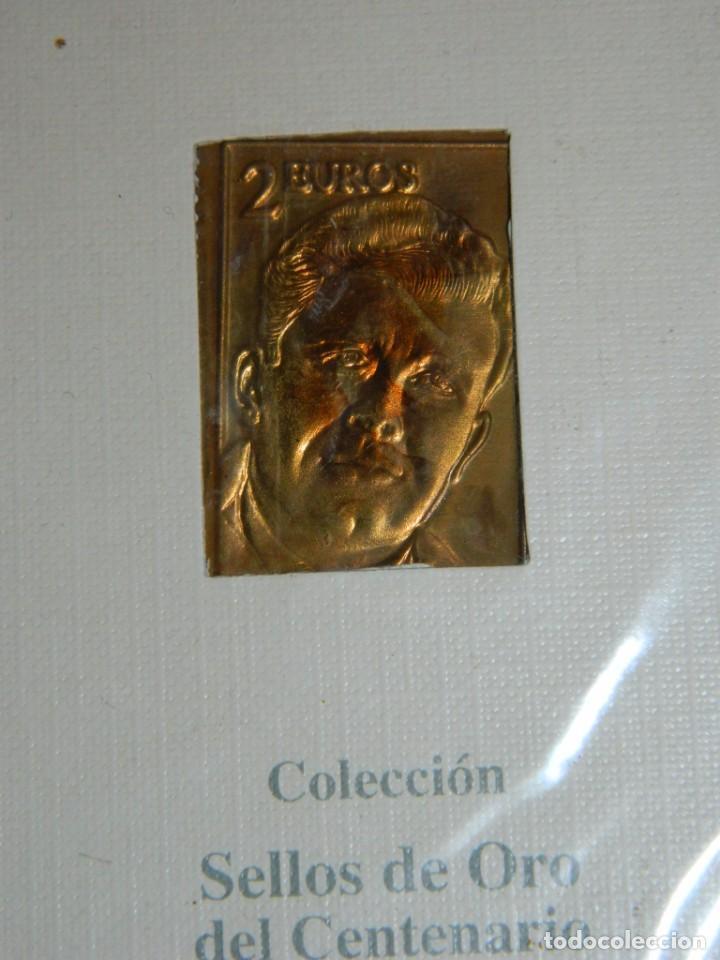 Coleccionismo deportivo: COLECCIÓN SELLOS DE ORO SPORT-COPA DE EUROPA - Foto 7 - 166478210