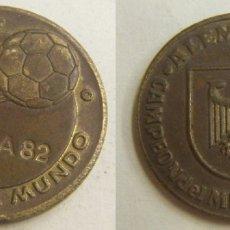 Coleccionismo deportivo: MEDALLA ESPAÑA MUNDIAL DE FUTBOL 82.MUNDIAL DE ALEMANIA. Lote 166691226