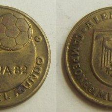 Coleccionismo deportivo: MEDALLA ESPAÑA MUNDIAL DE FUTBOL 82.MUNDIAL DE ALEMANIA. Lote 166691262
