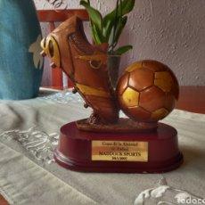 Coleccionismo deportivo: TROFEO DE FÚTBOL DE LA AMISTAD 2007. Lote 167740046