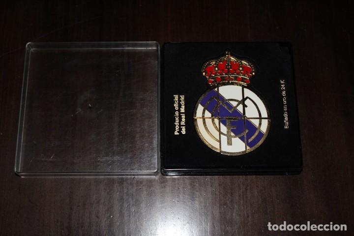 Coleccionismo deportivo: ESCUDO DEL REAL MADRID - Foto 3 - 168351548