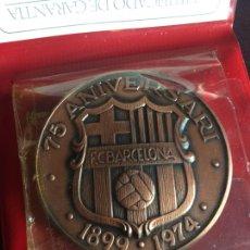 Coleccionismo deportivo: MEDALLA 75 ANIVERSARIO FC BARCELONA. Lote 170983590
