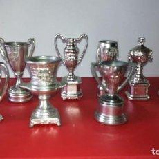 Coleccionismo deportivo: COLECCIÓN DE 10 COPAS DEL F. C BARCELONA. Lote 171057580