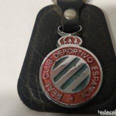 Coleccionismo deportivo: LLAVERO REAL CLUB DEPORTIVO ESPAÑOL. Lote 172862939