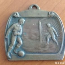 Coleccionismo deportivo: INTERESANTE MEDALLA DE COBRE, PREMIO DE LA COPA BLANCO (4/5/1930). Lote 173956259