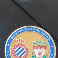 Coleccionismo deportivo: MEDALLA INAGURACION NOU ESTADI R.C.D. ESPANYOL . Lote 175922895