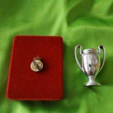 Coleccionismo deportivo: MINIATURA COPAS - REAL MADRID C DE F - COPA DE LA CHAMPIONS LEAGUE. Lote 153702178