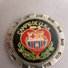 Coleccionismo deportivo: MEDALLA BARCELONA FC CAMPEÓN LIGA 84. Lote 176958805