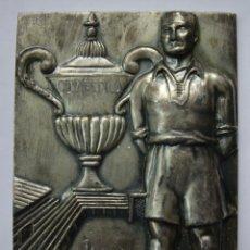 Coleccionismo deportivo: PLACA PREMIO DEPORTIVO A ANTONIO TIMOR - C.D.MESTALLA (VALENCIA) TEMPORADA 1952/53. Lote 179188010