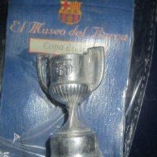 Coleccionismo deportivo: COPA DEL REY BARÇA FUTBOL CLUB BARCELONA EL MUSEO DEL BARÇA SPORT. Lote 190520553