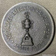 Coleccionismo deportivo: MEDALLA FUTBOL - XII TROFEO INTERNACIONAL DE FUTBOL - 1980 - AYUNTAMIENTO DE PALMA DE MALLORCA. Lote 179319196