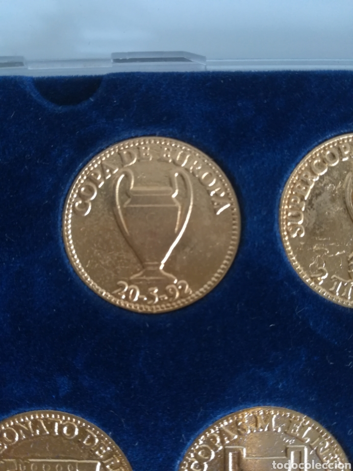 Coleccionismo deportivo: Colección Las Monedas de oro de las Copas del Barça - Mundo Deportivo - Foto 4 - 180250115