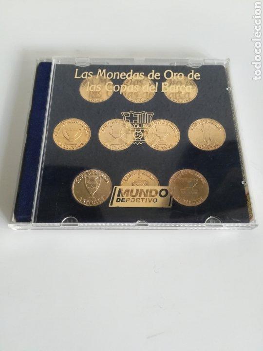 COLECCIÓN LAS MONEDAS DE ORO DE LAS COPAS DEL BARÇA - MUNDO DEPORTIVO (Coleccionismo Deportivo - Medallas, Monedas y Trofeos de Fútbol)