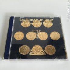 Coleccionismo deportivo: COLECCIÓN LAS MONEDAS DE ORO DE LAS COPAS DEL BARÇA - MUNDO DEPORTIVO. Lote 180250115