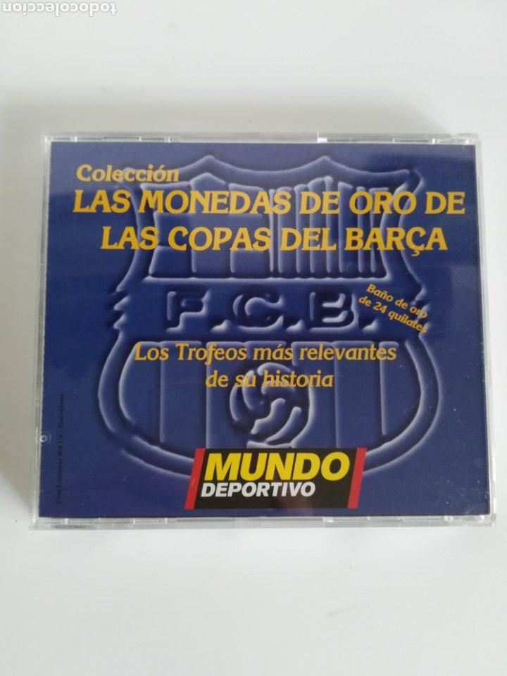 Coleccionismo deportivo: Colección Las Monedas de oro de las Copas del Barça - Mundo Deportivo - Foto 15 - 180250115