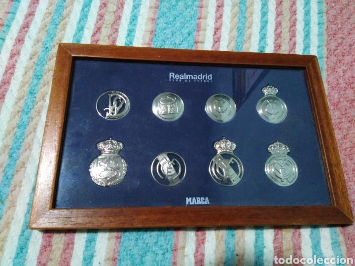 REAL MADRID CLUB DE FÚTBOL ( MARCA ) (Coleccionismo Deportivo - Medallas, Monedas y Trofeos de Fútbol)